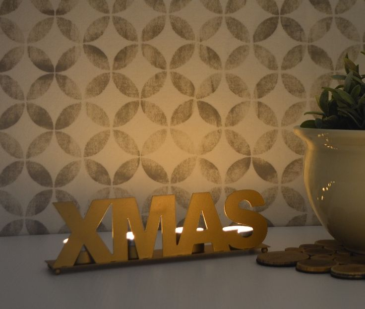 Perfect for the table or sideboard, Xmas will add a soft, festive glow to your home for the Christmas season. Available at www.dalaur-creative.com