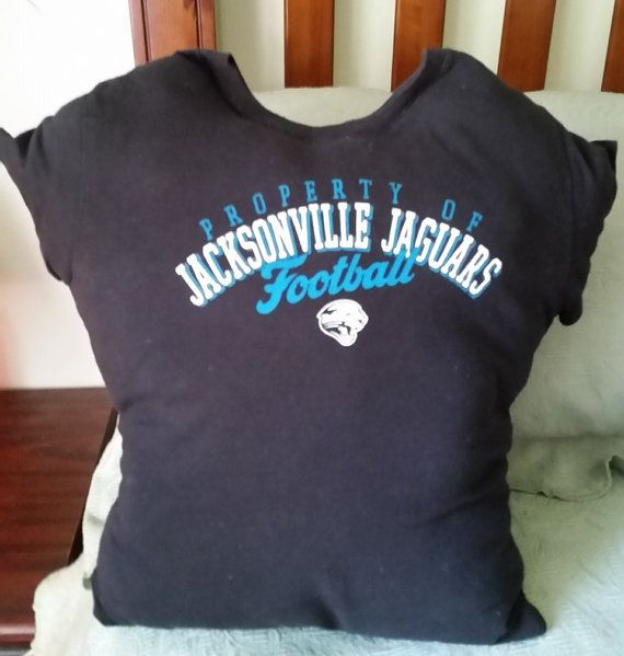 Jacksonville Jaguars Football T-shirt Pillow