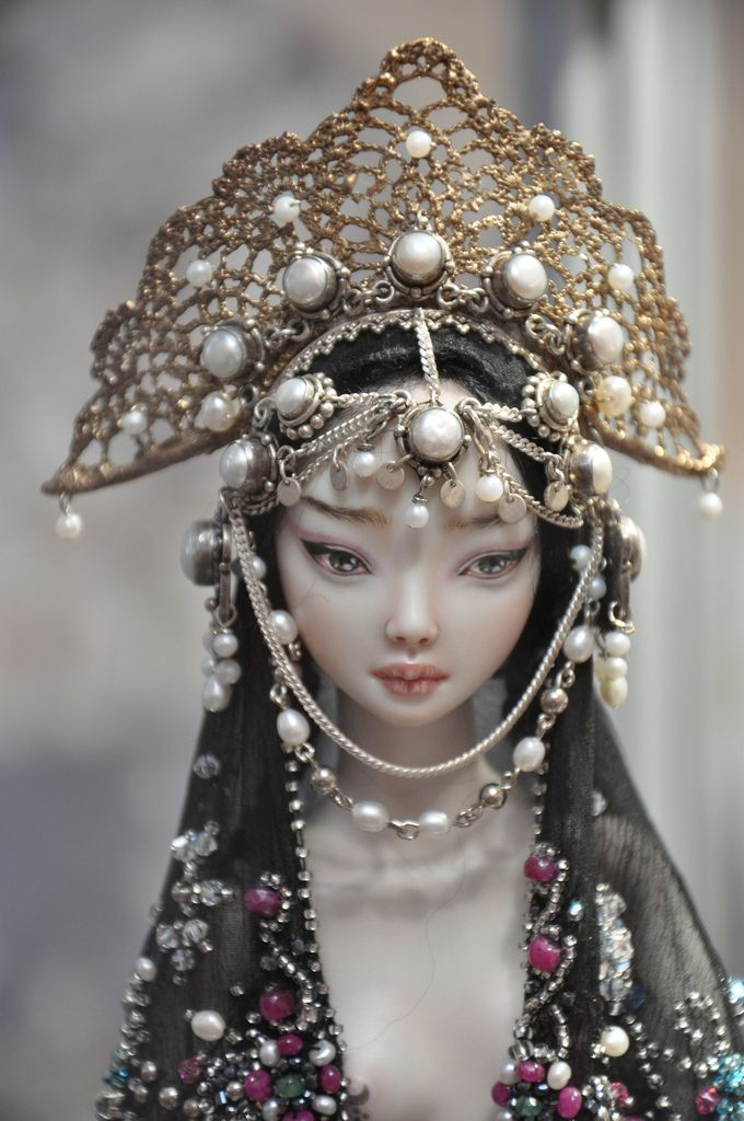 Enchanted Dolls by Marina Bychkova. Exhibition DOLL TIME № 7 in St. Petersburg.