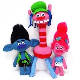 Patrones Branch, Poppy y Cooper (Trolls) 7,90€