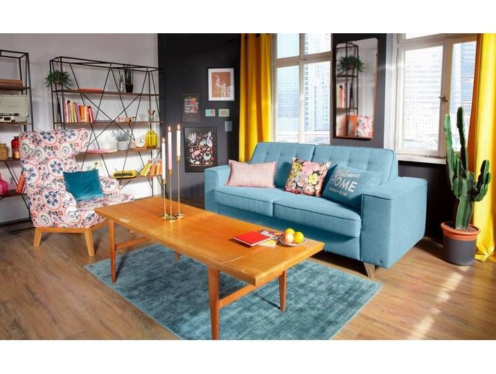 Tom Tailor Bett Couch Blau 232cm Nordic Sleep In 2020 Couch Home Decor Furniture
