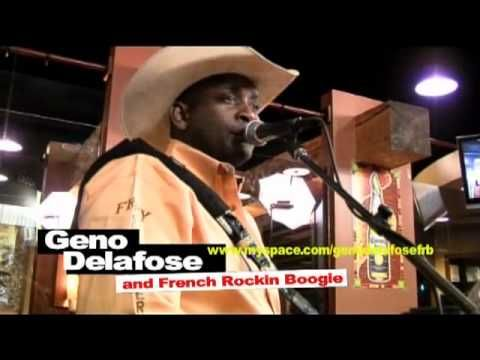 Geno Delafose--his sound is deeply rooted in traditional Creole music with strong influences from Cajun music and also country and western.
