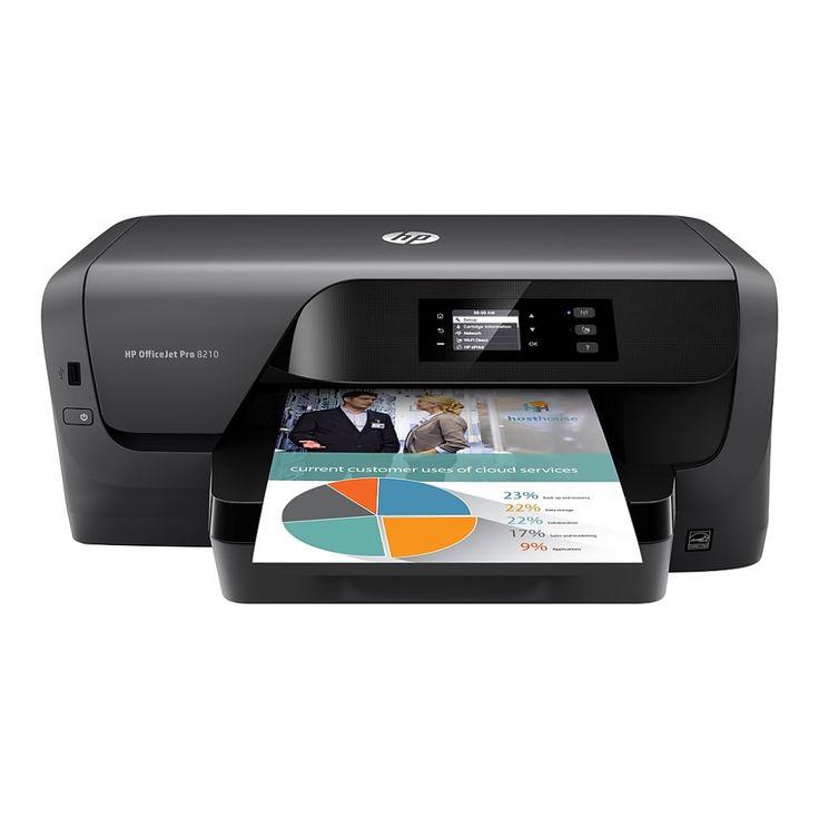Hp officejet pro 8210 usb wireless inkjet printer