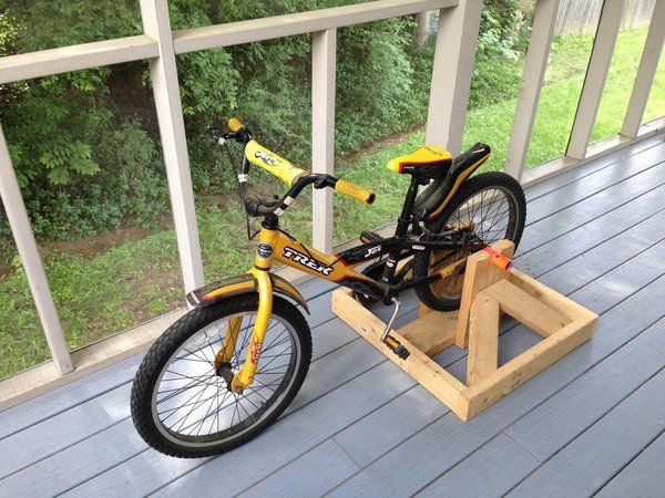 Stationary Bike Stand For Kids Diy Stationary Bike Bike Stand Bike