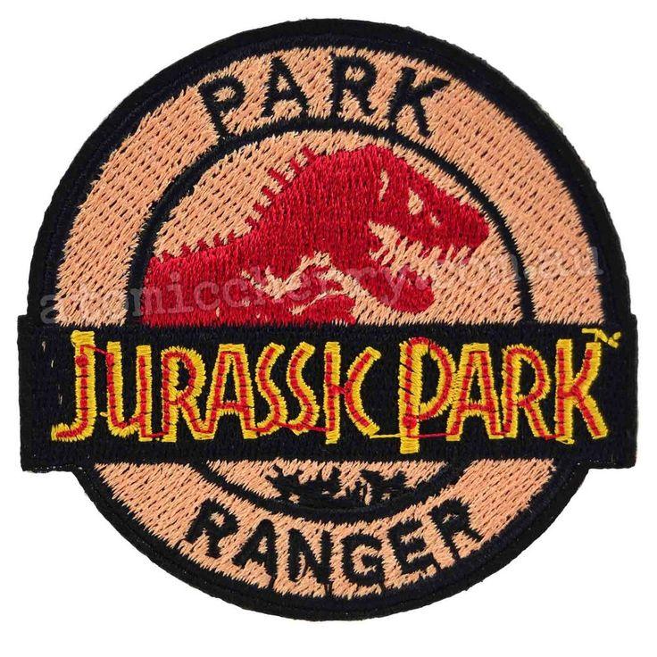 Jurassic Park Ranger Iron On Patch
