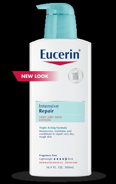 Eucerin intensive repair- amazing for dry and flaky skin... but also great for making your legs look SEXY and super smooth haha
