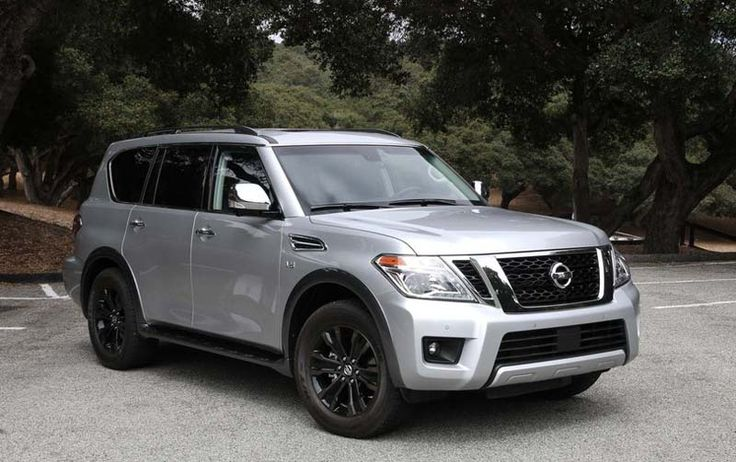 2018 Nissan Armada overview