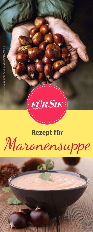 Rezept für Maronen-Suppe