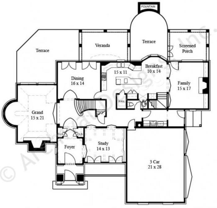 619 best interesting houseplans images on pinterest | home plans