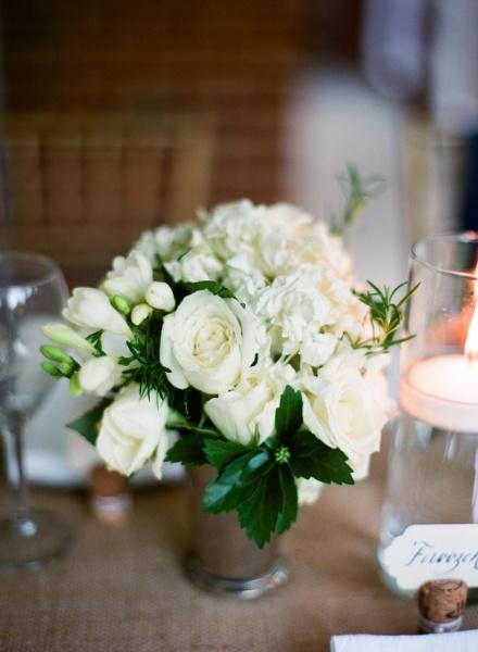 elegant-virginia-outdoor-wedding-white-flower-centerpiece