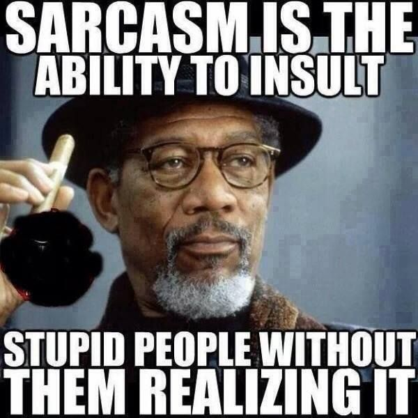 What is Sarcasm? Funny, Insult, People, Sarcasm, Sarcastic, Stupid