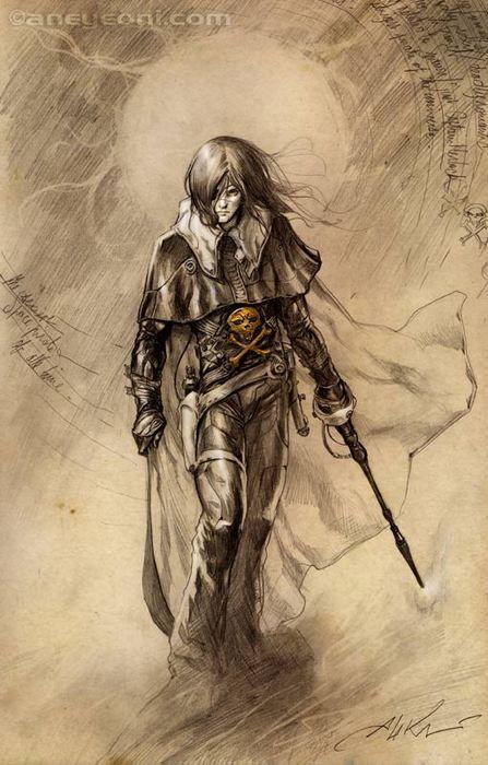 Captain Herlock / Albator  Artiste : Briclot Aleksi