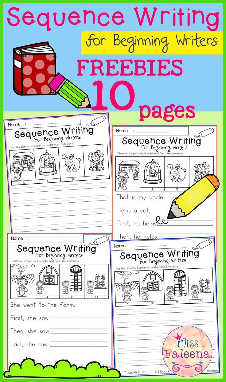 Free Sequence Writing Contains 10 Free Pages Of Narrative Prompts Worksheets This Product Is Suitable Kindergarten Writing Sequence Writing Elementary Writing [ 1244 x 736 Pixel ]