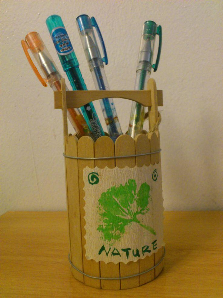 Craft Ideas From Ice Cream Sticks