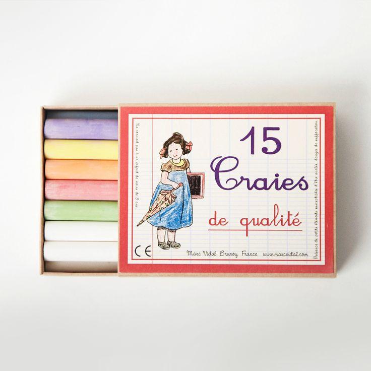 Pack of Vintage Chalks | Carousel
