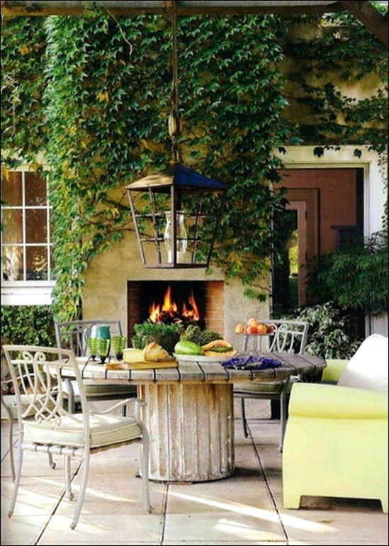 Rough Luxe My Favorite Garden Rooms Inspiration