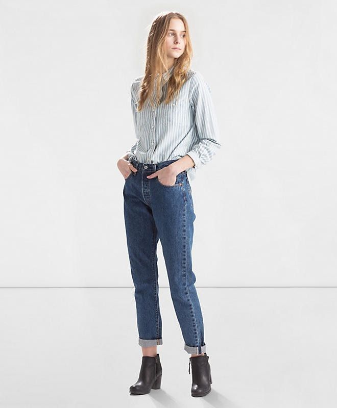 """Spodnie Damskie Levi's® 501® Skinny Jeans """"Pop Rock"""" - Odzież damska - JeansUp"""