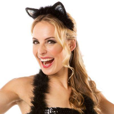 Katzenohren Haarreif € 3,95