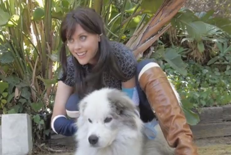 Avatar Korra And Janet Varney Meet Diani And Devine Meet the Apocalypse : janet is so adorable!