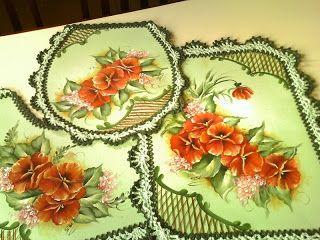Elizabeth Cavalcante,pintura e arte.: Meu trabalho.Pintura porcelanizada em tecido.
