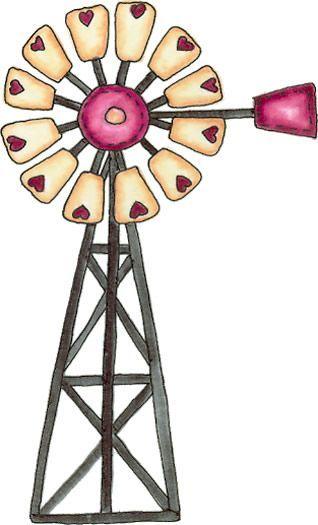 windmill clipart