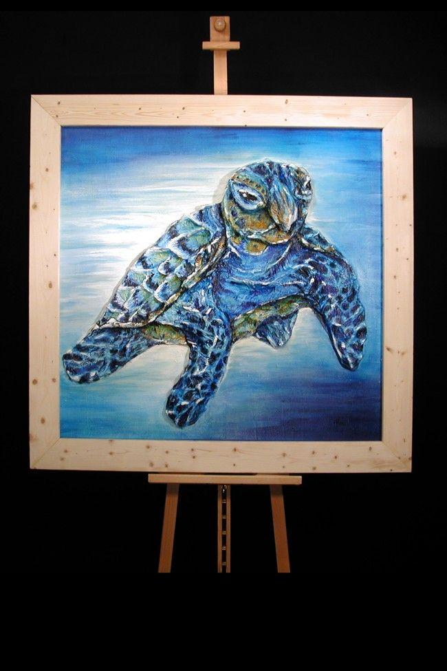 MEERES – SCHILD – KRÖTE / Wasserschildkröte by Delia Nordhaus