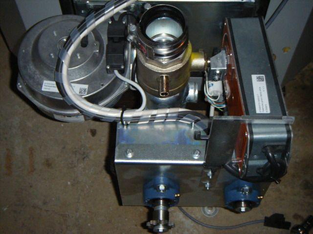 Photos chaudière à pellets ökofen: installation et stockage