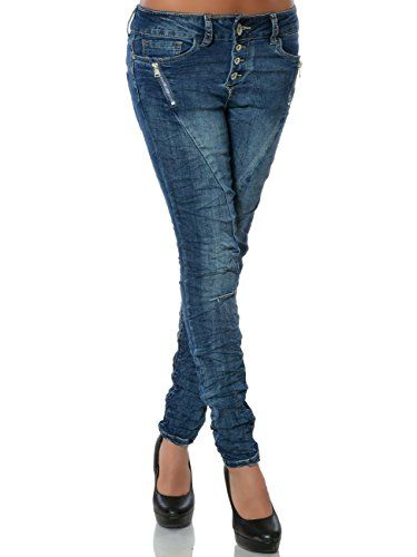 cool Damen Jeans Hose Skinny Knopfleiste (Röhre) No 15831, Farbe:Blau, Größe:M / 38 Check more at https://designermode.ml/shop/77028031-bekleidung/damen-jeans-hose-skinny-knopfleiste-roehre-no-15831-farbeblau-groessem-38/