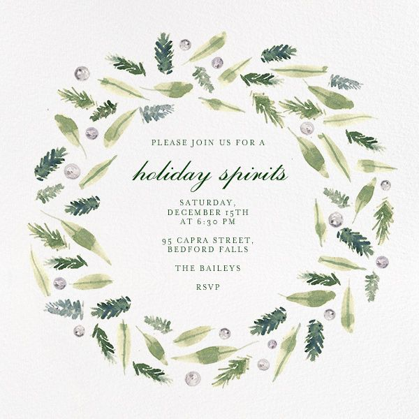 229 best images about Online Holiday Party Invitations on – Online Christmas Party Invitations