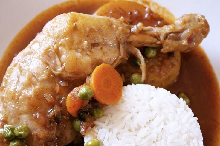 Estofado de Pollo // Peruvian Stewed Chicken