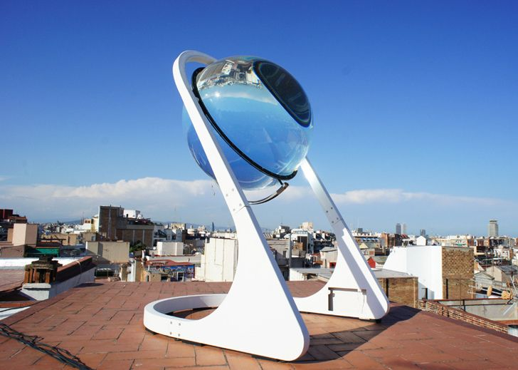 Rawlemon's New Betaray Crystal Ball Harvests Light From The Sun, Moon and Cl…