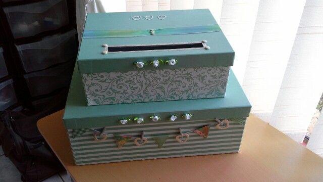My first wedding box