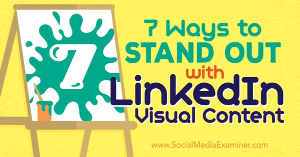 Create amazing visual content that invites your social media audience engage with it.