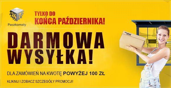 Bezpłatna wysyłka w sporti.pl :-)  http://www.sporti.pl/Darmowa-dostawa-w-sporti-pl--cinfo-pol-43.html