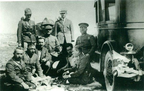 Atatürk, Bursa manevrası