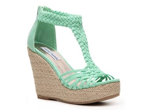 I want these now!!! Perfect Birthday gift!  SM Women's Rise Wedge Sandal Women's Wedge Sandals All Women's Sandals Sandal Shop - DSW
