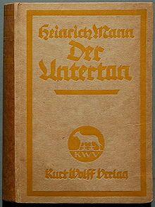 Heinrich Mann Der Untertan (1918).jpg