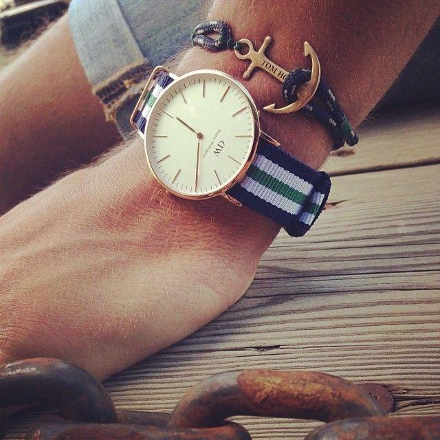Cast away #tomhope #anchor #bracelet #fashion #danielwellington