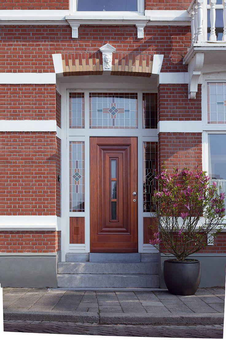 Bruynzeel deuren / deur idee / buitendeur / voordeur jaren 30