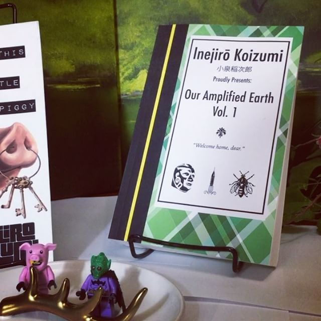 """""""...70s Jackie Collins paperback pulp..."""" """"...It's PK Dick meets Harry Harrison..."""" The Luxarium and Inejiro Koizumi would like to welcome you to Our Amplified Earth.  #scifi #books #livros #lesen #bücher #kitaplar #autor #author #kunst #bookstagram #amwriting #reviews #mystery #luchalibre #organdonor #timetravel #aliens #bees #kidnapped #tour #voyage #future #garden #spa #producer #indie #retirement #abduction #kindle #ebooks"""