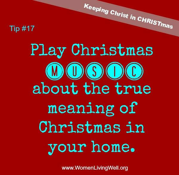 Christmas tip 17 play christmas music in your home for What is the definition of house music