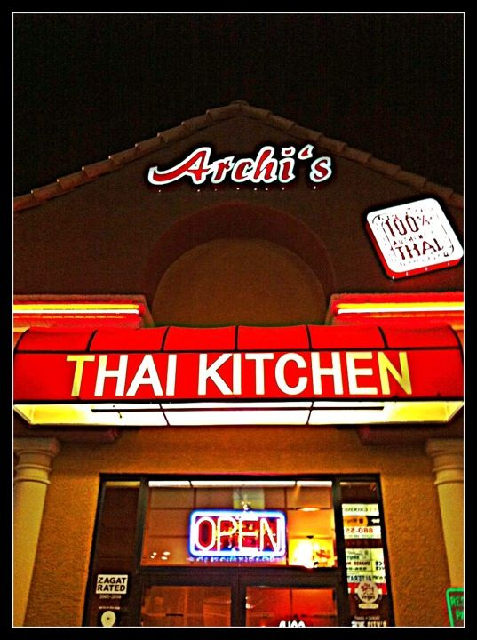 Archi S Thai Kitchen Las Vegas Nv