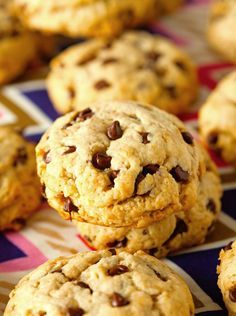 Unbelievably Healthy Chocolate Chip Cookies