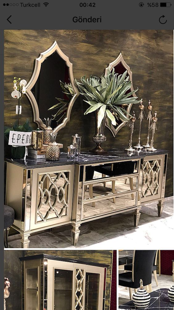 Utilisation De Miroir Dans La Decoration De Salon Salon