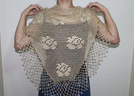 Mother wedding shawls Handmade shawl  knitting by PinarKnitting