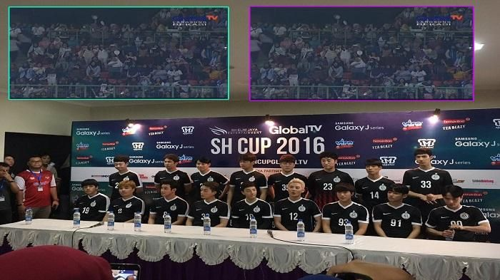 Unik! Pertandingan Sepak Bola FC Men Vs Selebritis FC Dipenuhi Para Fangirl Oppa