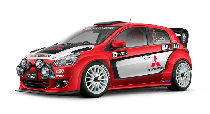 Mitsubishi Mirage WRC RalliArt by ~idhuy on deviantART  Where can I get fog lights like that?!
