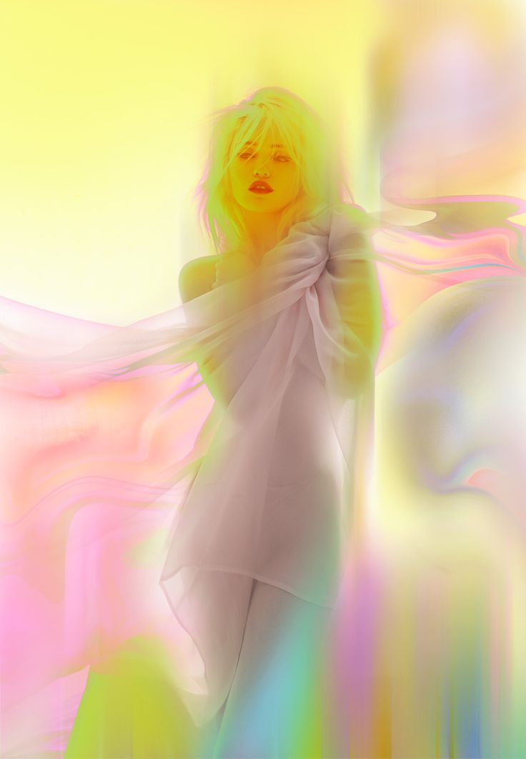 Singer-model Sky Ferreira by Nick Knight for AnOther Magazine