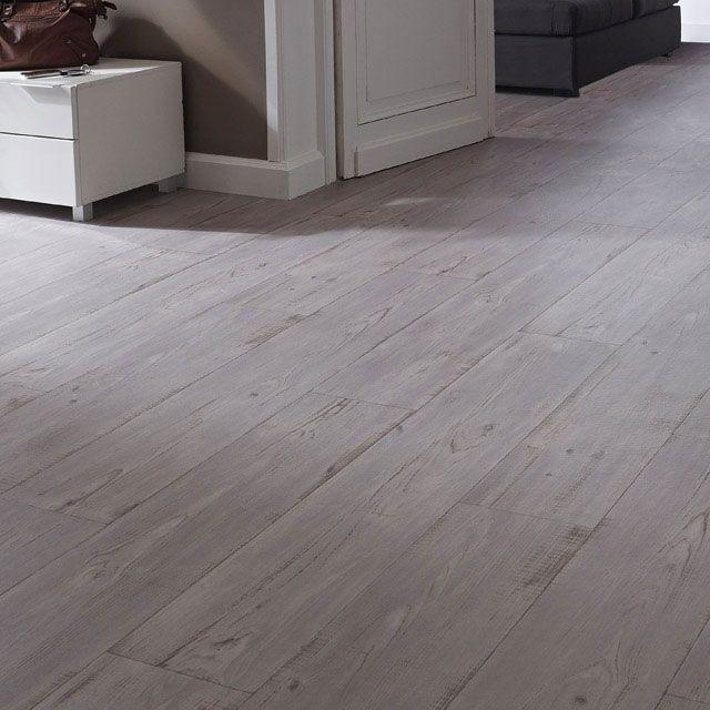 Revêtement sol PVC Home confort Keywest gris 4m - CASTORAMA