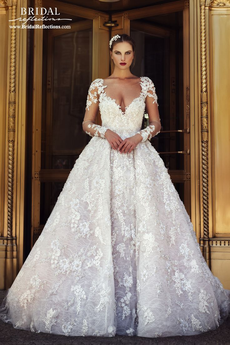 Stephen Yearick Wedding Dress and Bridal Gown Collection | Bridal Reflections